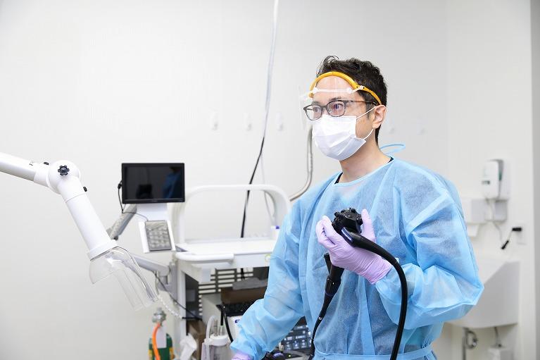 「経験豊富な内視鏡専門医による大腸カメラ検査」